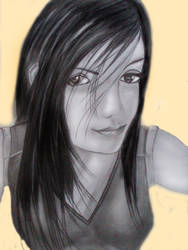 Final Fantasy - Tifa Loackhart by SwiftlakerREBORN