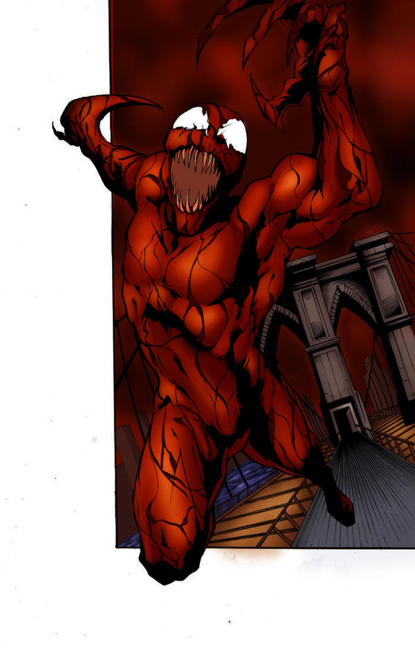 Carnage Attacks( Colors) by wburton19
