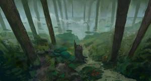 trees 3 by Leonardconcept