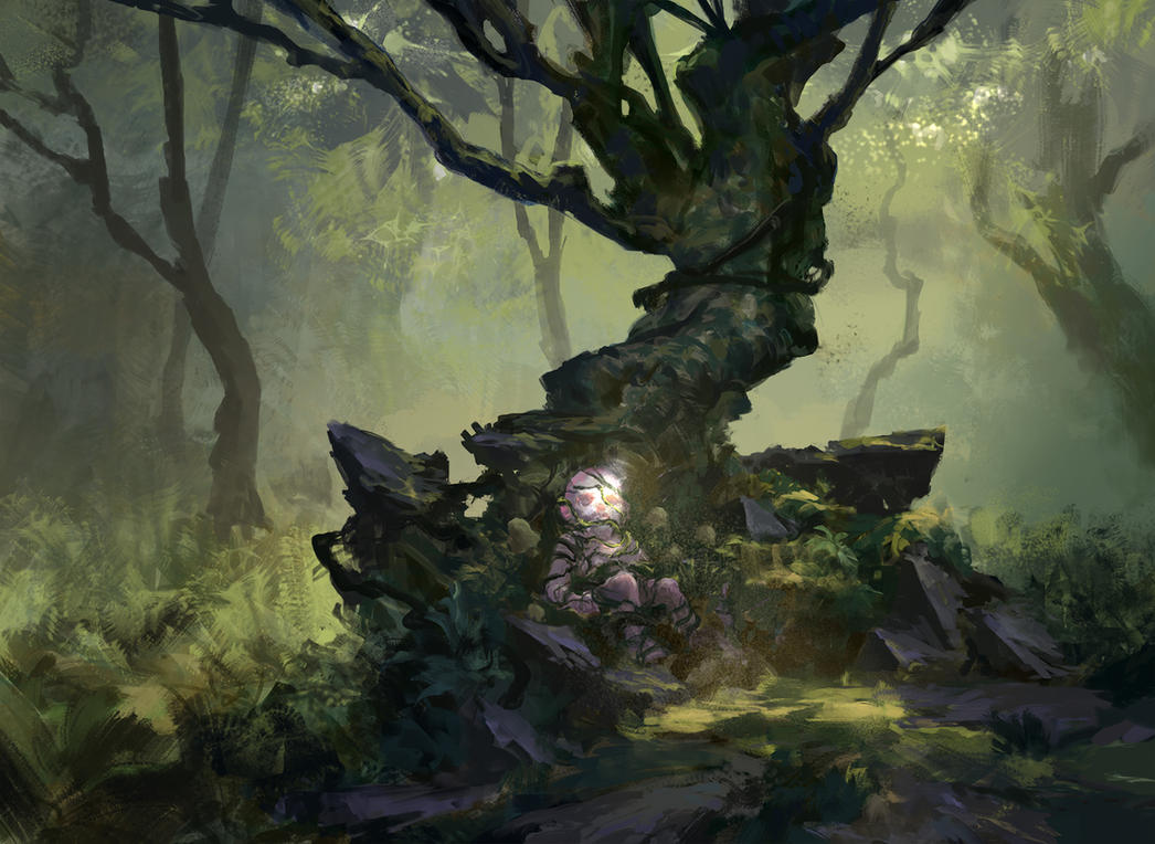 Kindred forest by Leonardconcept