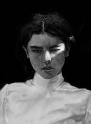 Portrait painting by Leonardconcept