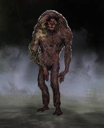 Infected ape concept 2
