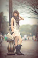 Model : Ash Barly by rollyoktomiriyani
