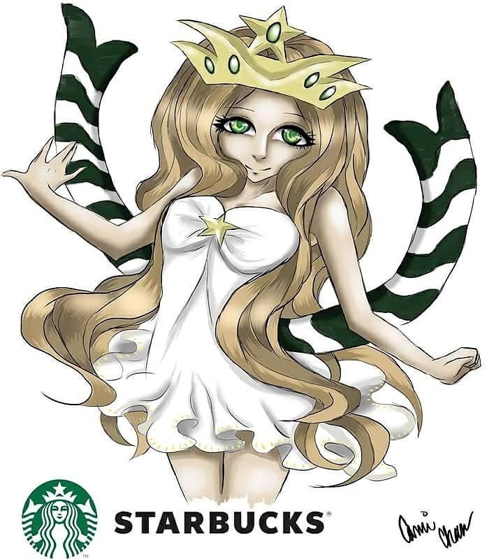 Anime Starbucks Girl By Camichanart On Deviantart