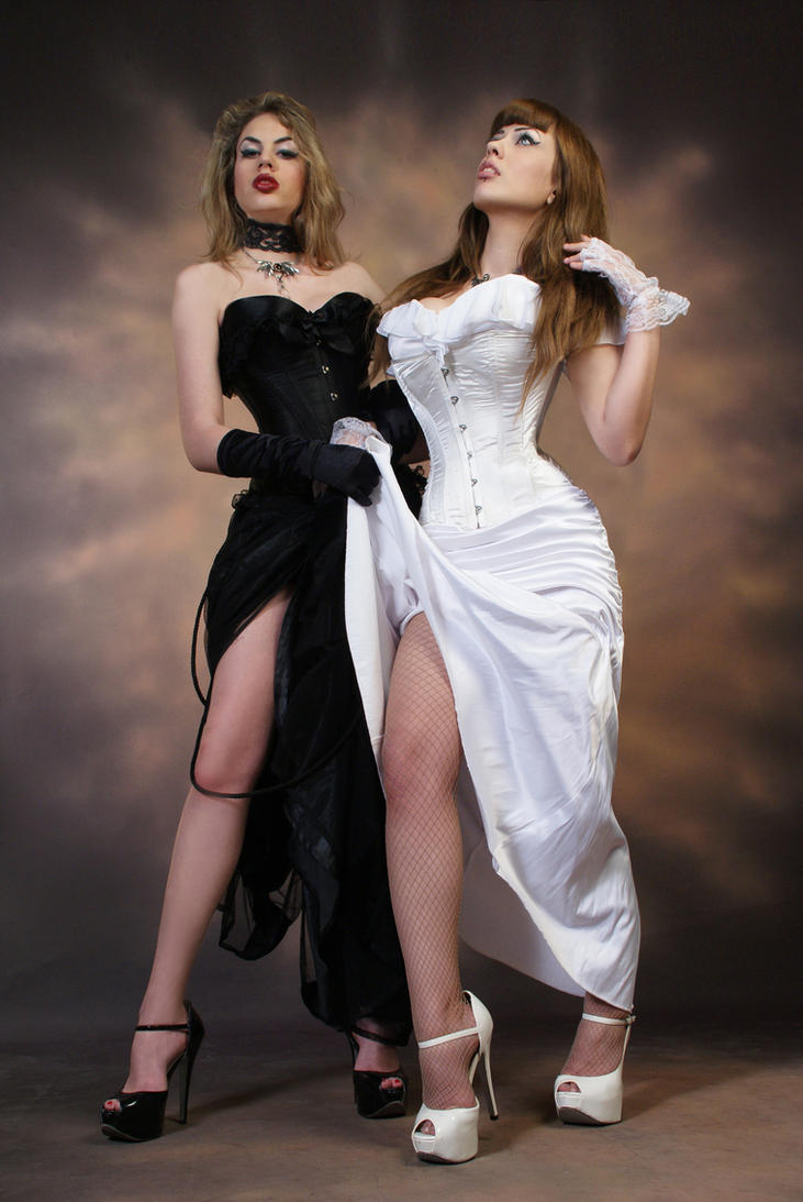 Good and Evil Stock 1 by CrowsReign-Stock