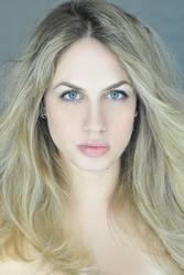 Natural Girl Portrait-Stock