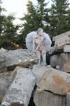 Fallen Angel I by CrowsReign-Stock