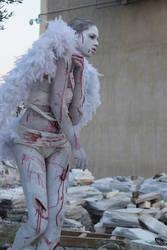 Fallen Angel II by CrowsReign-Stock