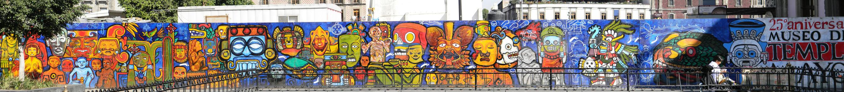 Mexico City Mural by CrimsonCape