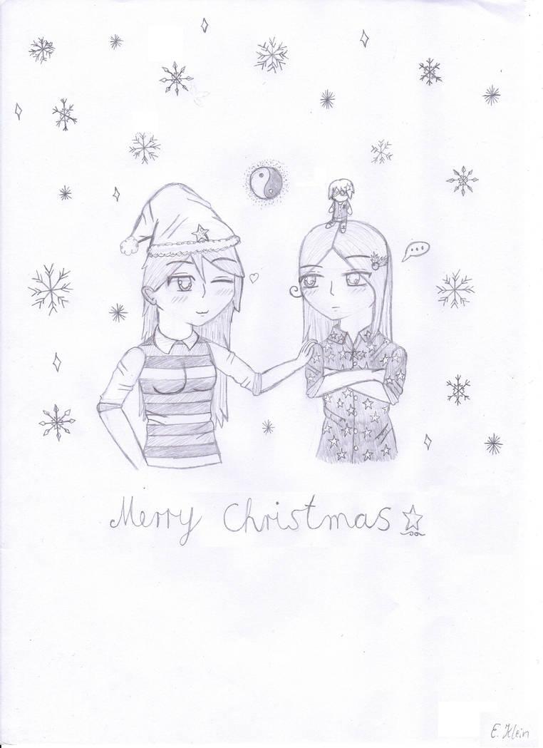 Ying Yang Twins Christmas.Happy Holidays The Yin Yang Twins By Selenanova On Deviantart