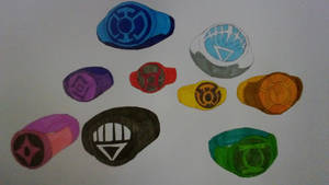 Lantern Ring's (Some practice I guess?)