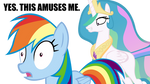 Molestia Loves Rainbow Dash