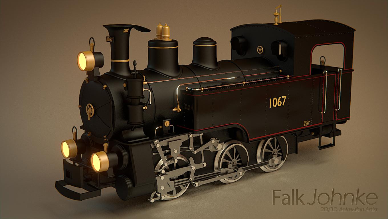 blender cycles steamlocomotive by Falksen on DeviantArt
