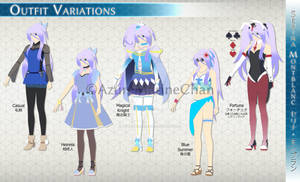 Serina Montblanc: Outfit Variations