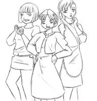 Tendo sisters by Riccardo80