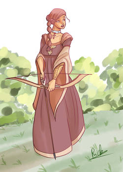 Medieval girl 2