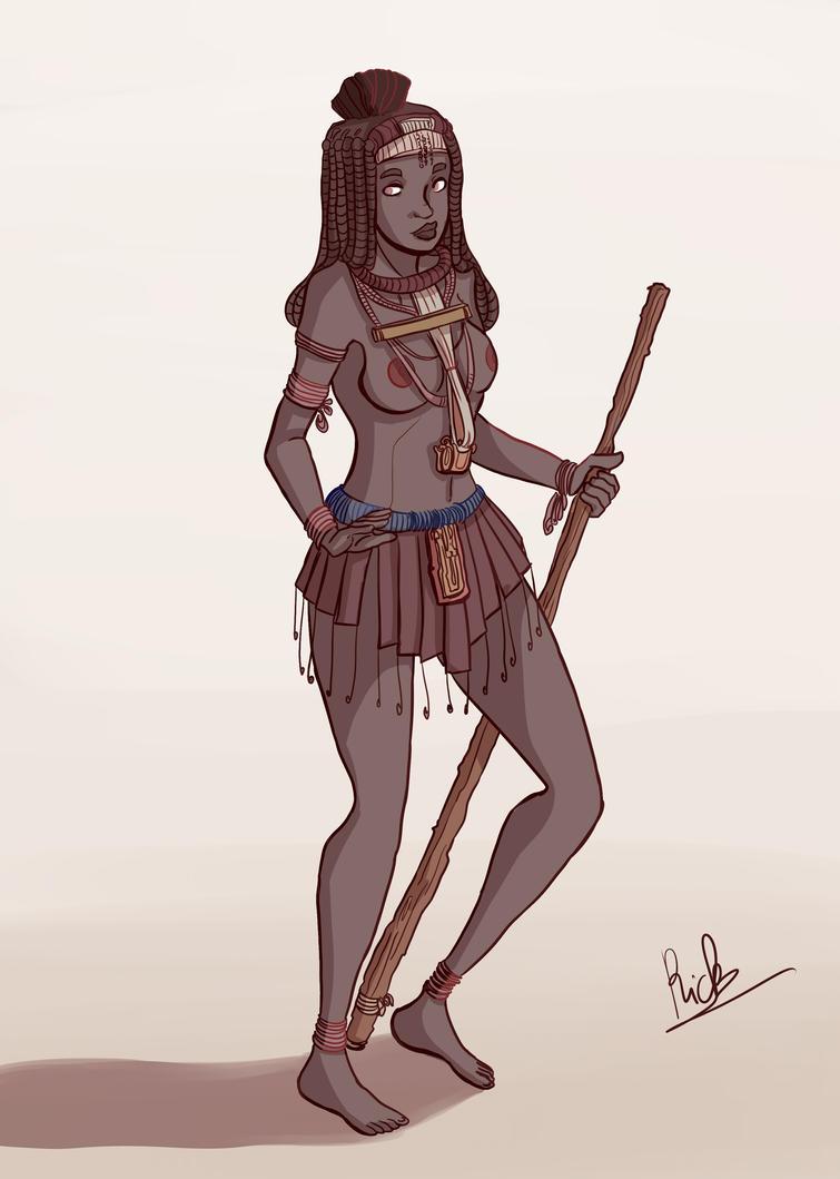 Himba tribe by Riccardo80