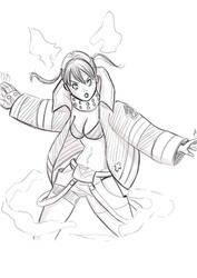 Tamaki fan art Fire Force