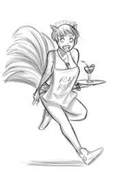 Kitsune maid
