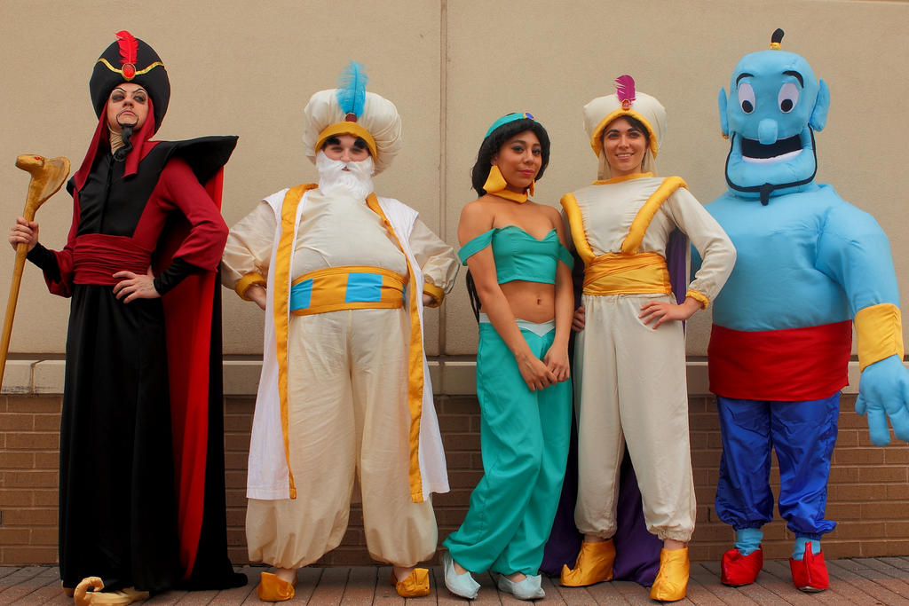 Connect The Colors >> Aladdin Group at Connecticon 2013 by TheyCallMeCait on DeviantArt