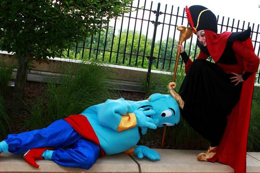 Jafar bests Genie