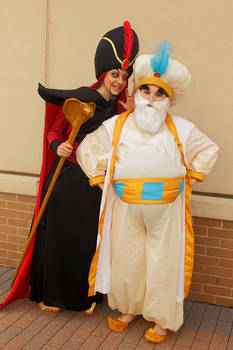 Jafar influences the Sultan