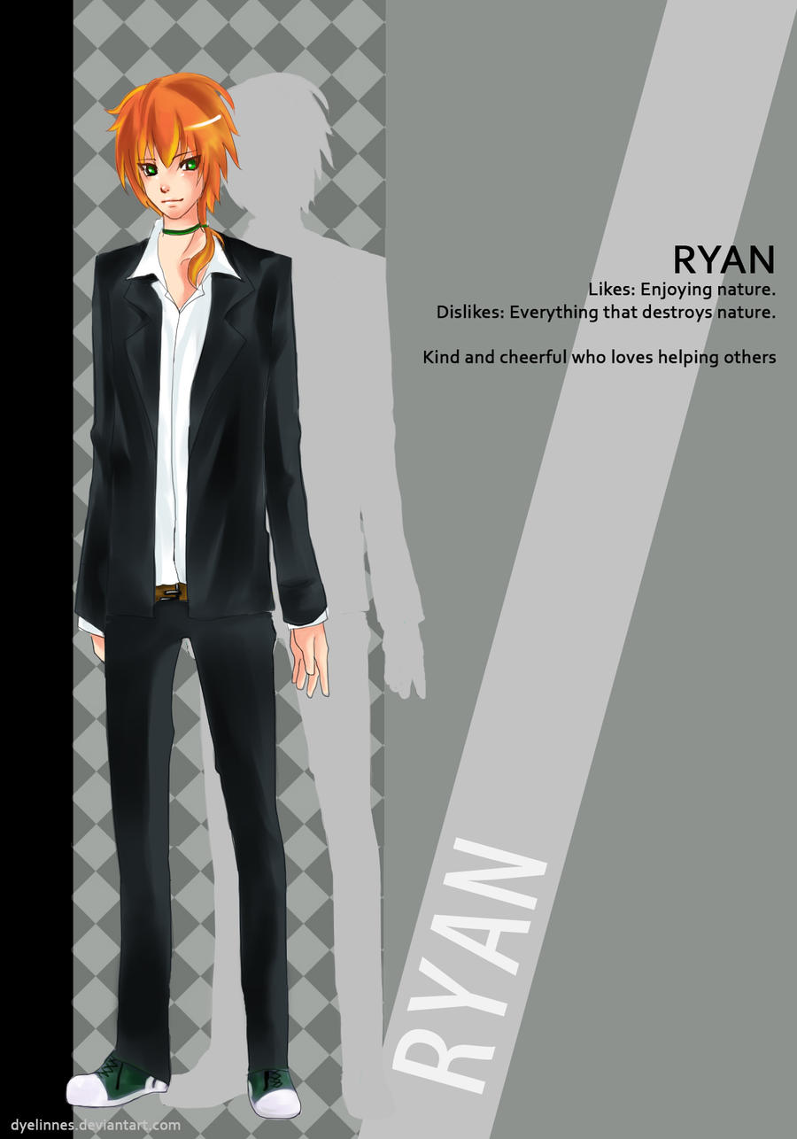 [GC Otome] Ryan by dyelinnes