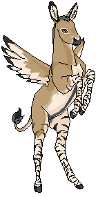 Zedonk Pegasus Foal by talkingmongoose
