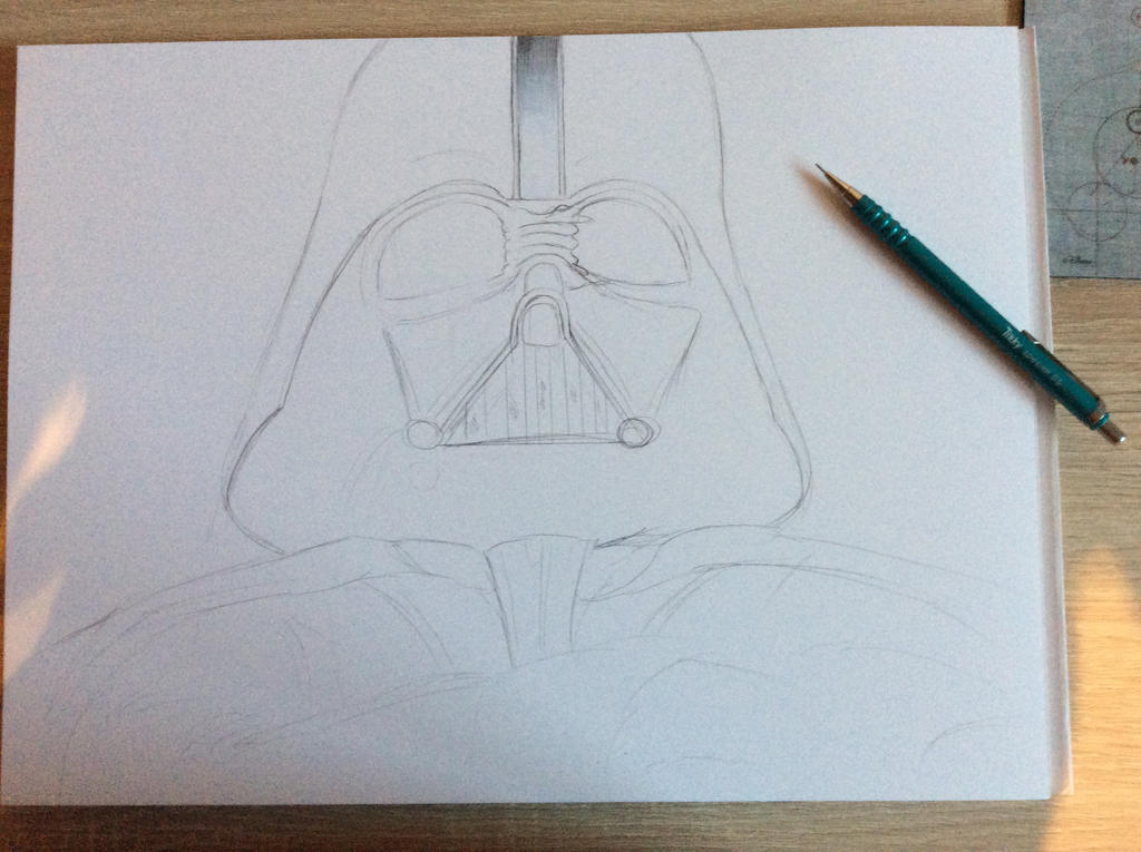 WIP_Darth Vader by RoxiaMagicGirl