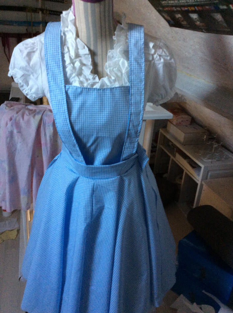 WIP_Dorothy Cosplay Dress by RoxiaMagicGirl