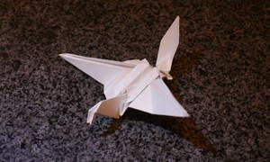 Origami Crane by BennyXCross