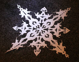 Extraordinary Snowflake by BennyXCross