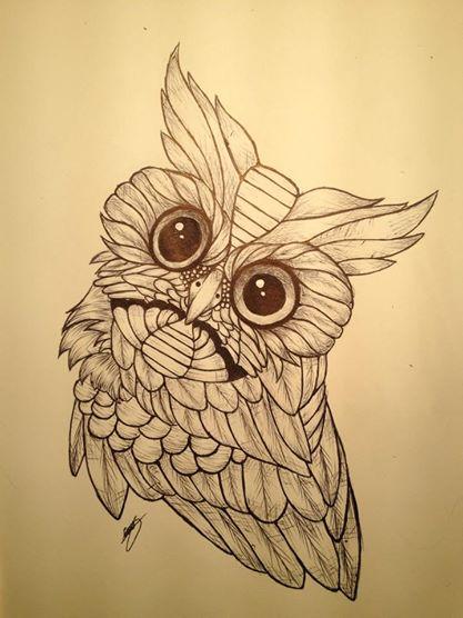 Owl Tattoo by EmilyRose481
