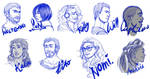 Sense8 Characters