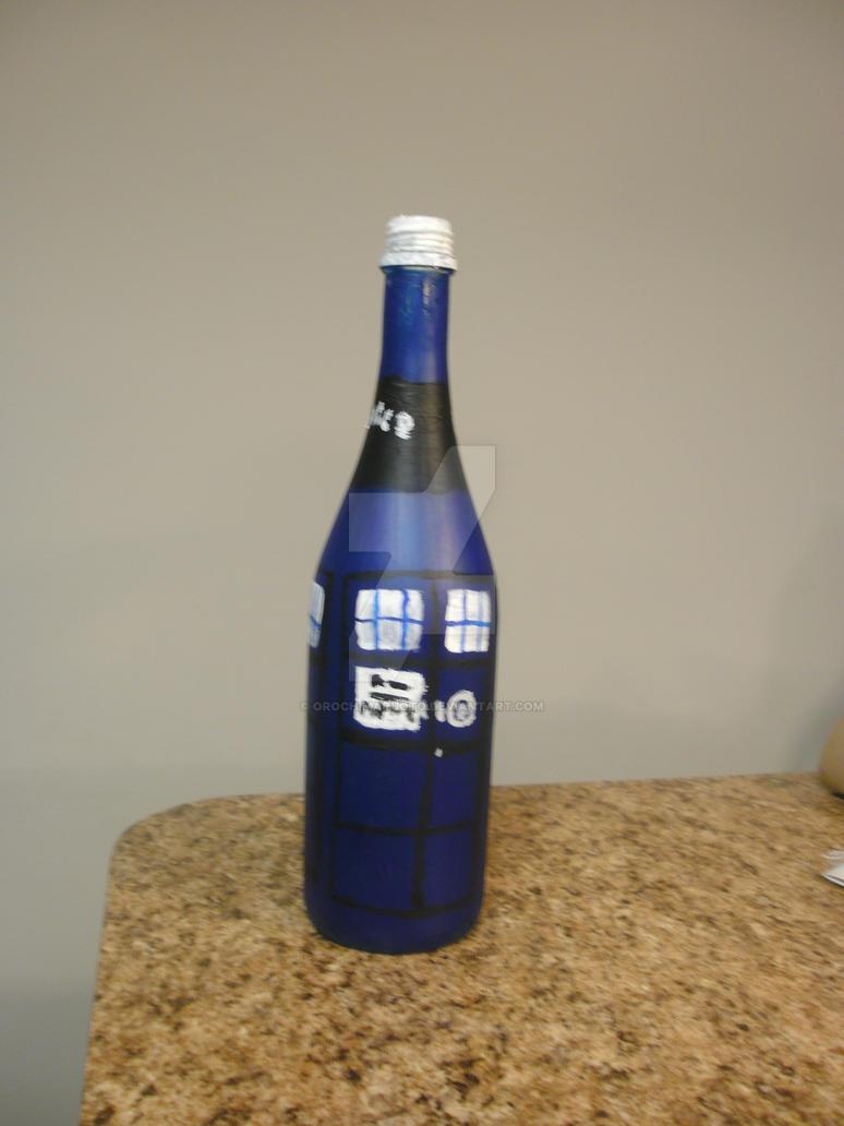 Tardis Bottle by Orochimaruoto
