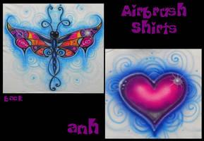 Dragonfly Airbrush by vampireheartagram27