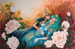 Sailor Sleeping Beauty by vampireheartagram27