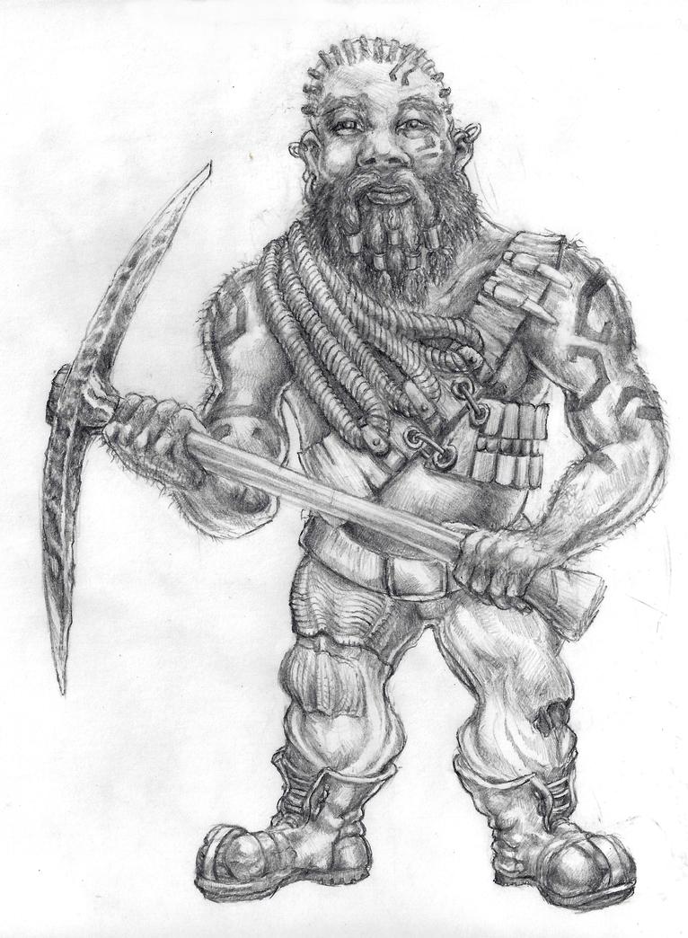 Harad Dwarf by grimdrifter