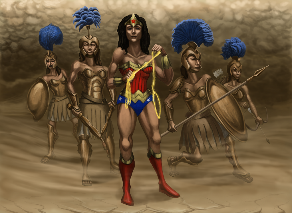 Diana: Princess of Amazons by grimdrifter
