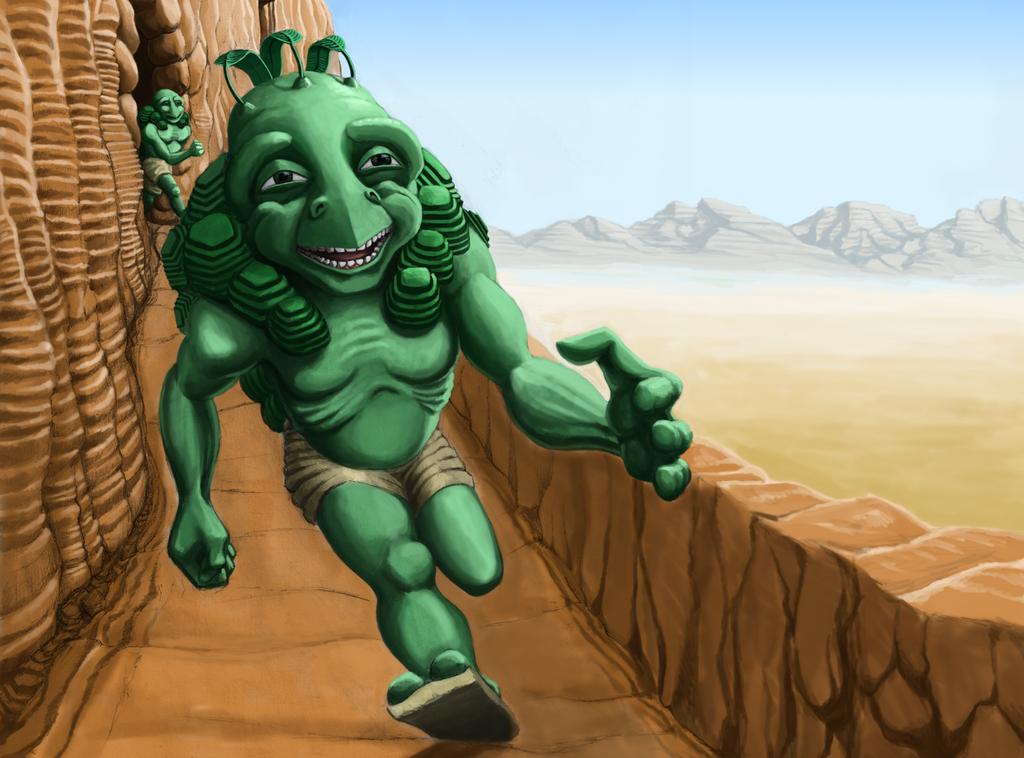 See Gan Run by grimdrifter