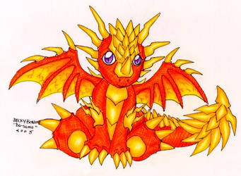Chibi Thunder Dragon by dg-sama