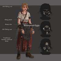 Char concept: Josie [ritual] by Bulletproof-Eggs