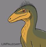 Aerosteon doodle by LWPaleoArt