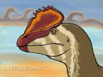 Dilophosaurus 2020 -Scaled version by LWPaleoArt