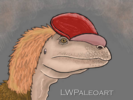 Dilophosaurus 2020- Feathered version