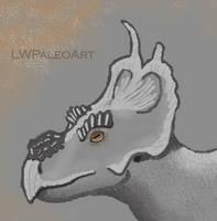 Stylized Achelousaurus
