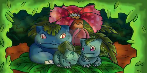 #001-003 Bulbasaur Evolution