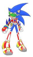 Compo entry: Futuristic Sonic