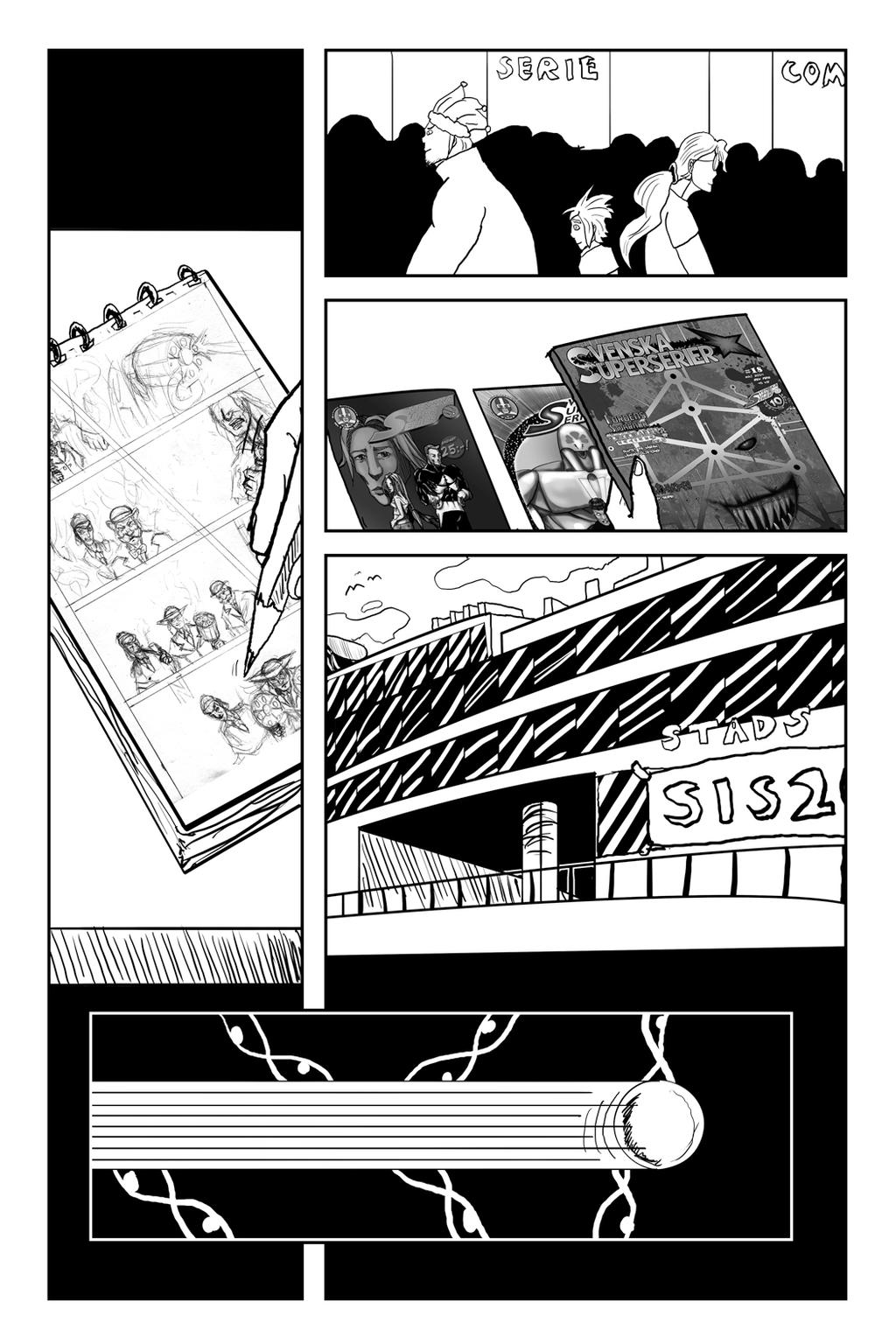 Forgoraren: Epilogue Page 14 by Speedslide