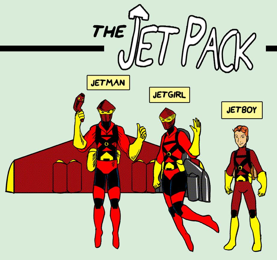 The Jet Pack by Speedslide
